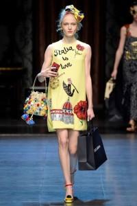 Maja Salamon otworzyła pokaz Dolce & Gabbana