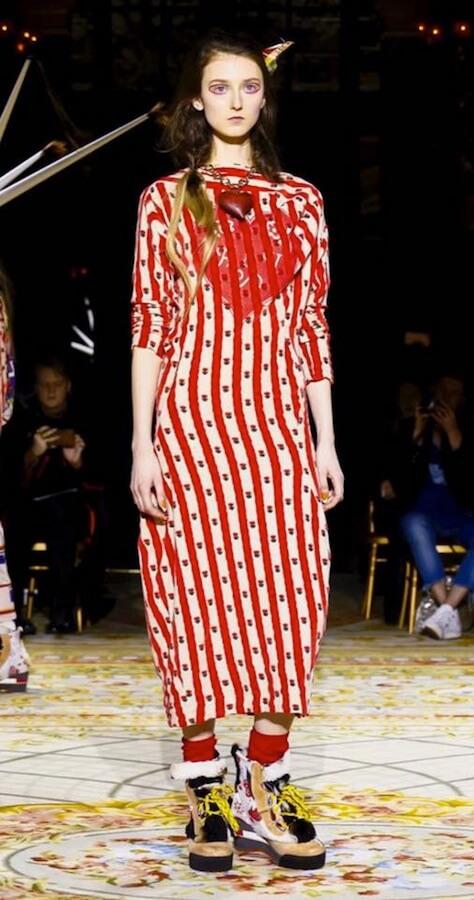 Klementyna Dmowska for Vivienne Westwood @ Paris FW