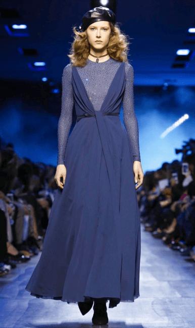 Marysia Zakrzewska for Dior <3 @ Paris FW 2017