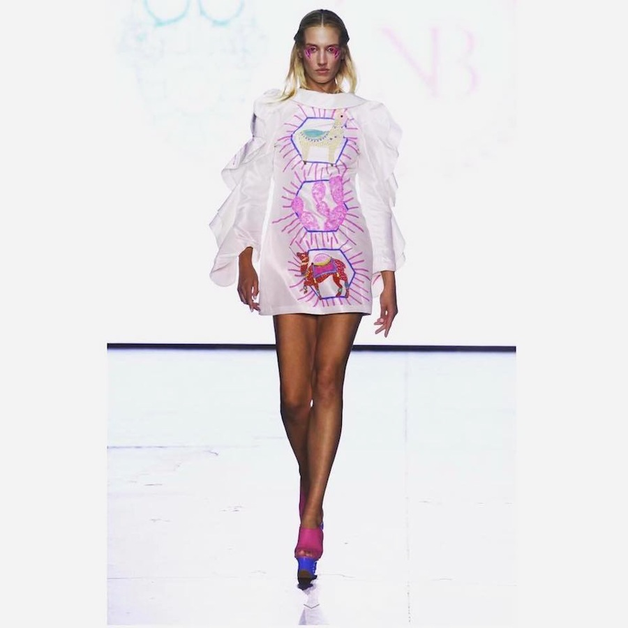 Asia Pułko @ Neubyrne fashion show SS2018 NY