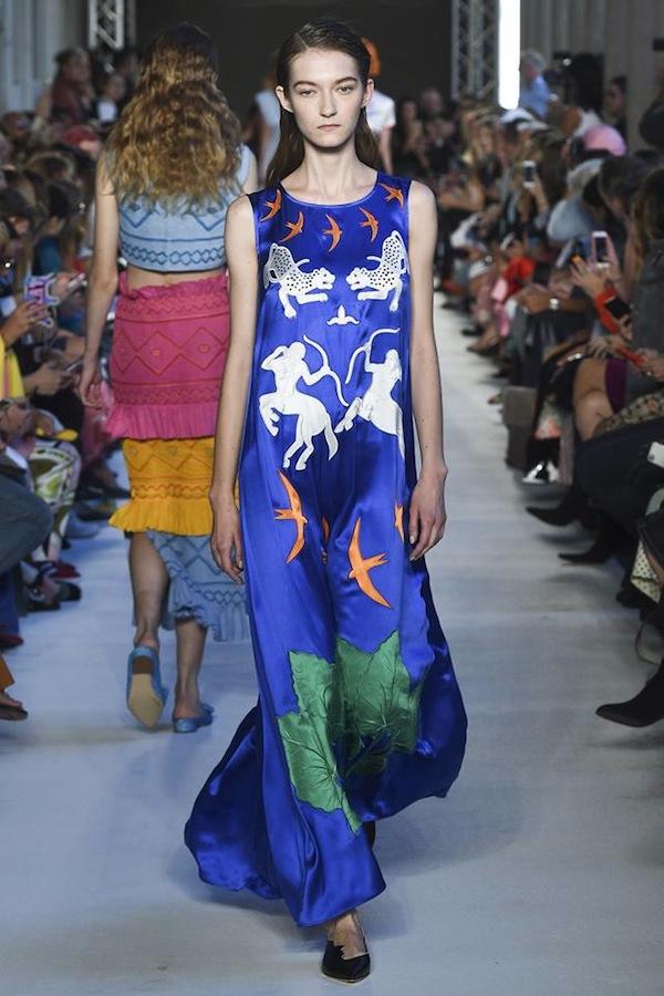 Kasia Jujeczka for Vivette fashion show SS2018 Milan FW