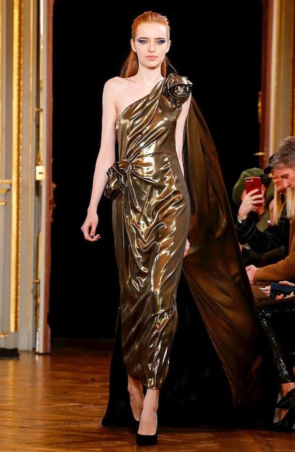 Agata Rudko for INGIE fashion show Paris 2018